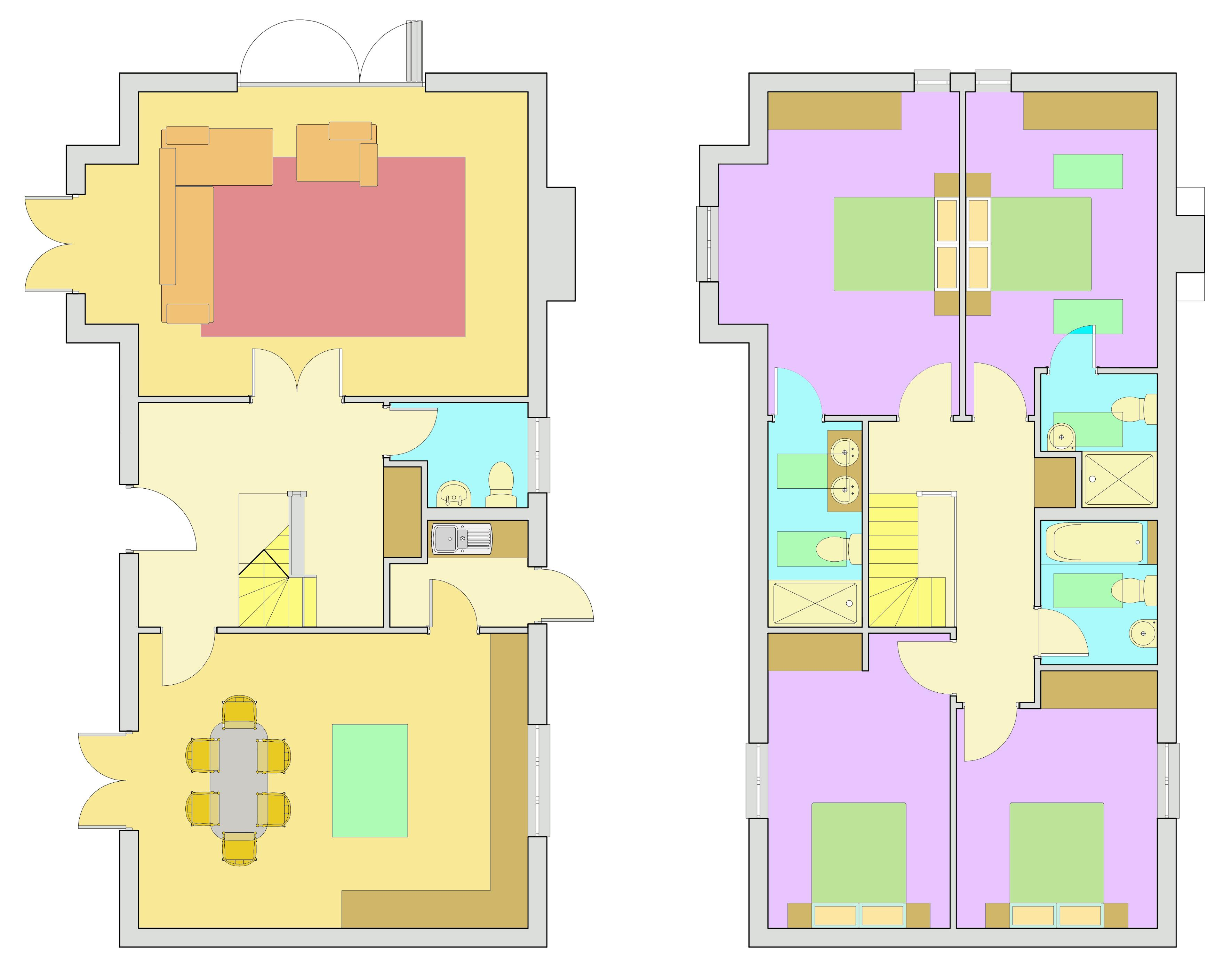 Blenheim park estates whitegates dobbin lane s18 for Dobbins homes floor plans